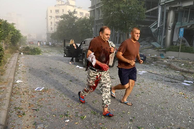 Отзвуки взрыва были слышны на расстоянии 20 км от города