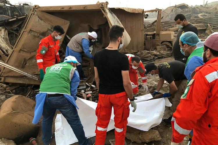 Количество жертв взрыва растет каждый час.