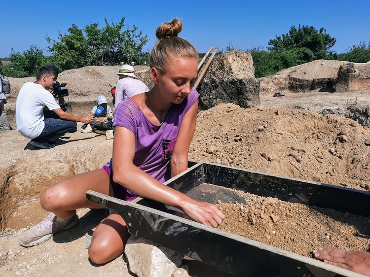 Амбасадор археологического туризма Екатерина Лиморева из Санкт-Петербурга