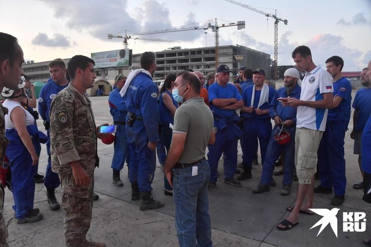 Россия направила в Ливан несколько самолетов МЧС в качестве гуманитарной помощи