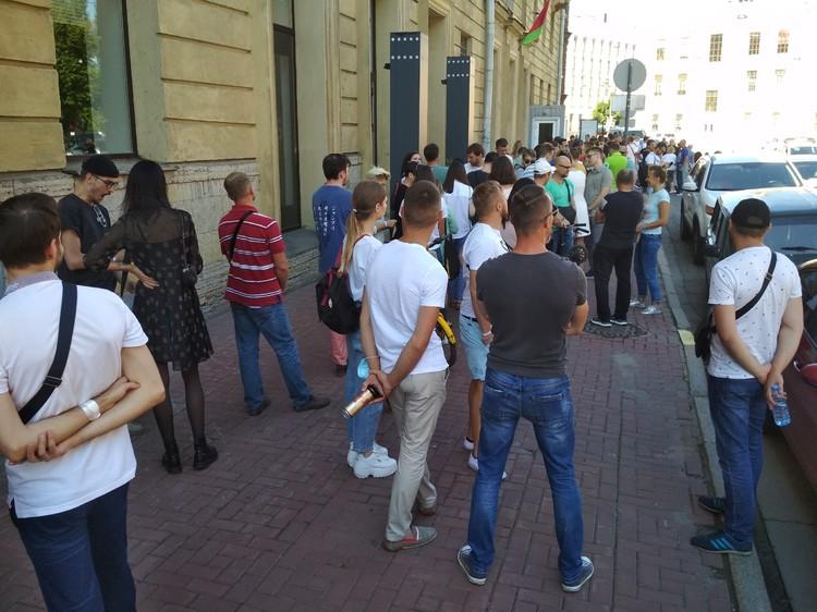 По оценкам людей, собралось около 600 человек Фото: предоставлено Геннадием