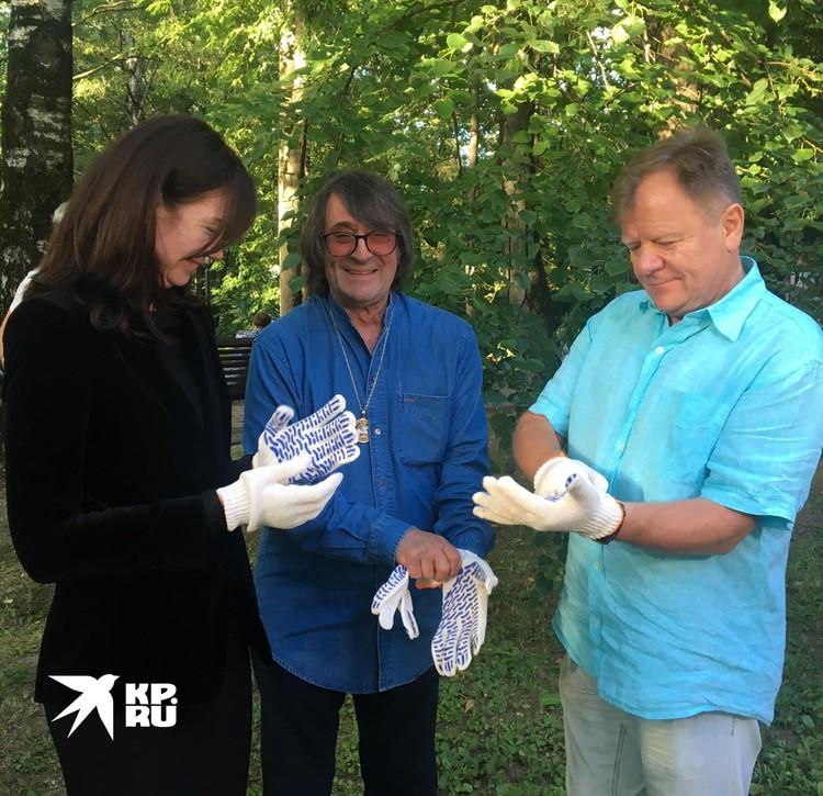 Маэстро Игорь Бутман и Юрий Башмет