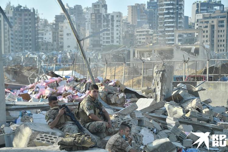 В Бейруте прекратили поиск живых людей под завалами зданий, обрушившихся в результате взрыва 4 августа.