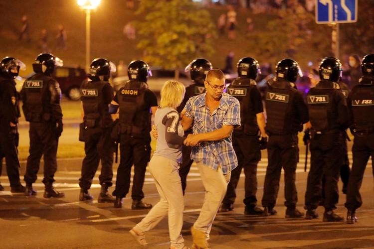 В ночь с 9 по 10 августа Минск не спал
