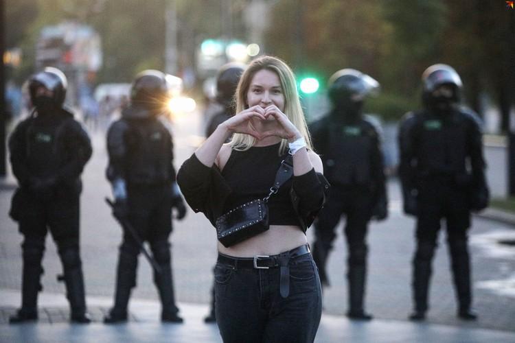 В Беларуси люди снова вышли на улицы в знак протеста
