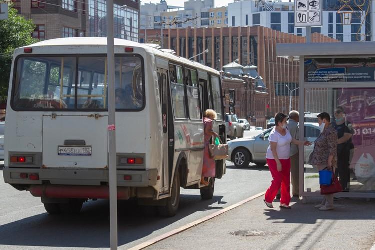 С улиц Уфы никуда не делись старые автобусы