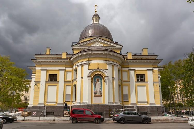 Архитектор Петр Егоров вдохновлялся Троицким собором. Его современные последователи не стали отступать от идей классицизма. Фото предоставлено фондом «Созидающий мир».