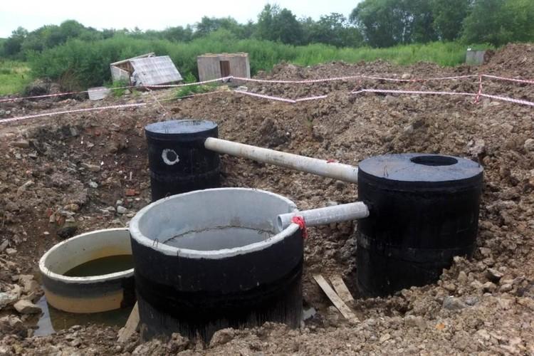 Возведение станции очистки канализационных стоков в селе Новонежино построят до конца октября