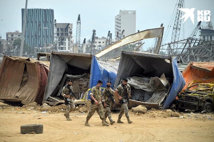 Второй взрыв, прогремевший в бейрутском порту, был такой силы, что в ливанской столице без крыши над головой осталось более 300 тыс. человек