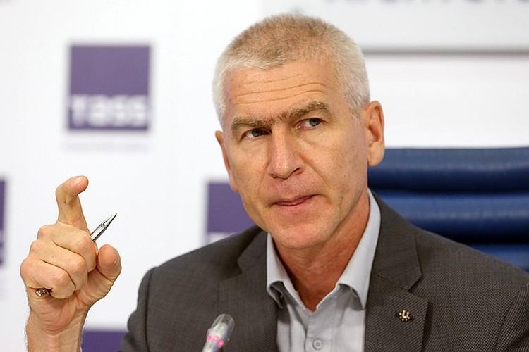 Министр спорта Олег Матыцин. Фото: Владимир Гердо/ТАСС
