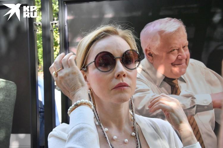 Вдова Олега Табакова актриса Марина Зудина.