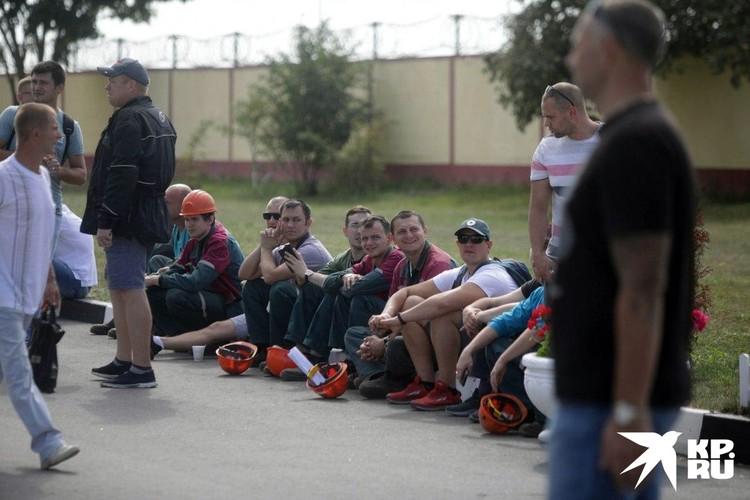 Забастовка на предприятии «Беларуськалий»
