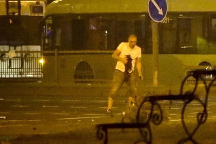 Погибший Александр Тарайковский 2 (Кадр видео Associated Press)