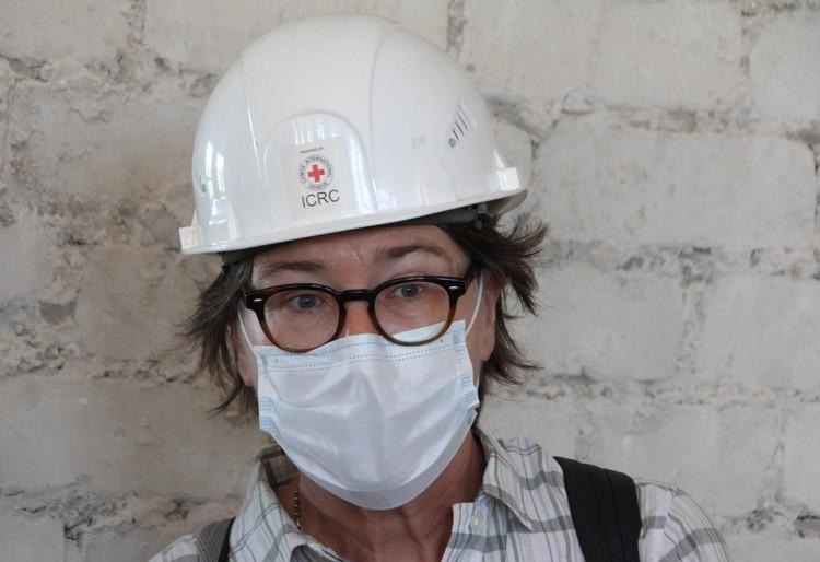 Глава Красного Креста на Украине Флоранс Жиллет