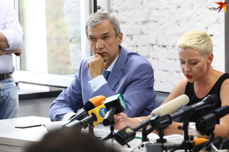 Павел Латушко и Мария Колесникова вошли в Координационный совет.
