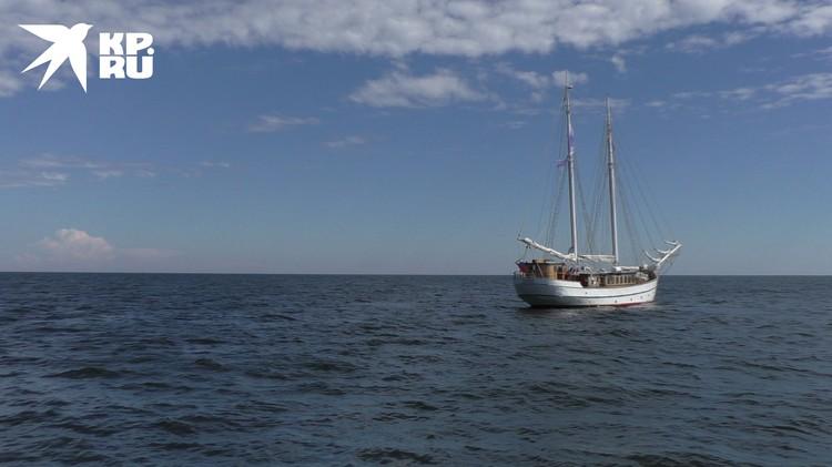 """""""Надежда"""" ждала своих пассажиров, готовая выйти в море"""