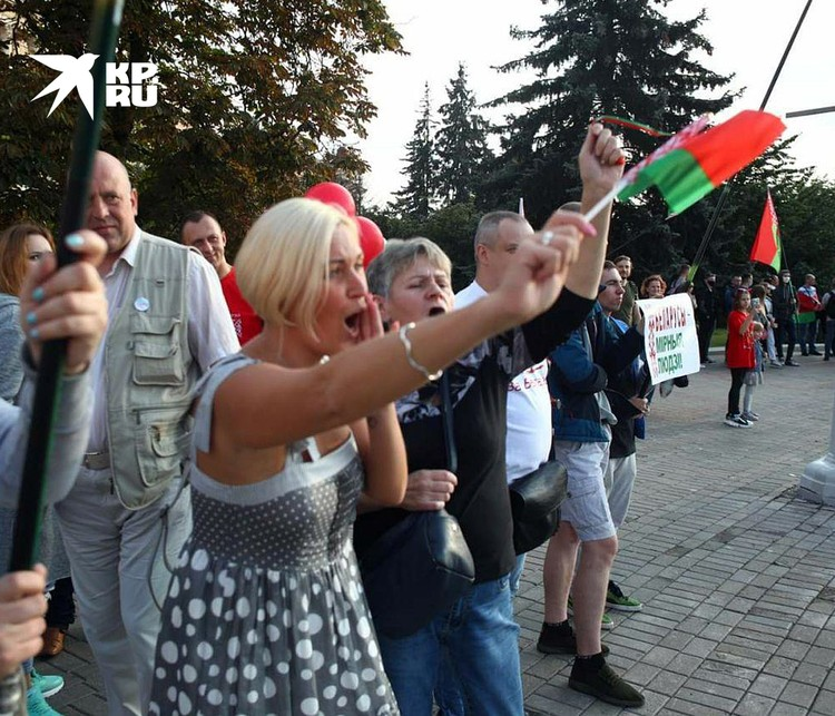 Митинг сторонников Лукашенко