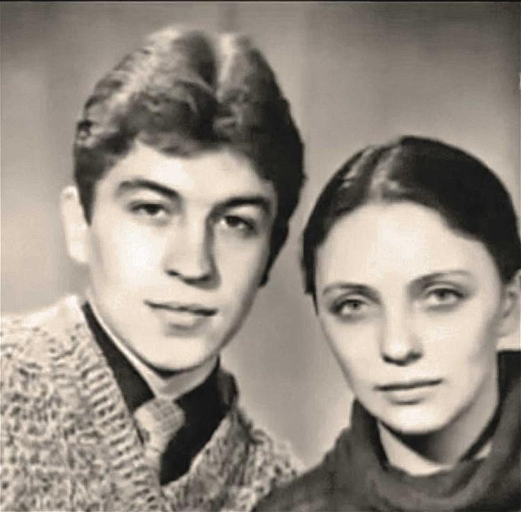 Володя и Лариса Савицкие.
