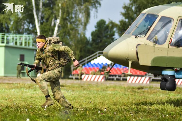Военные из Белоруссии приехали на конкурс, вопреки всему, и показывают достойные результаты.