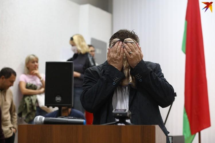 Несколько раз нам казалось, что в глазах Геннадия Давыдько слезы.