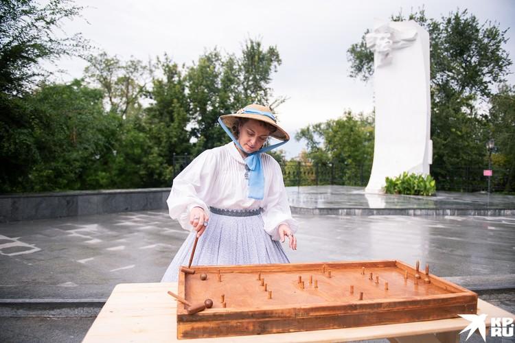 Были в Струковском саду и старинные спортивне забавы