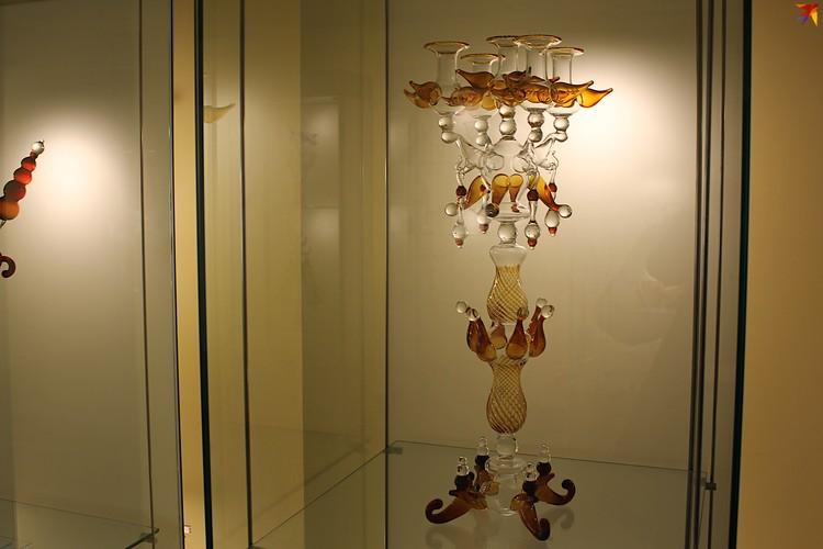 Многие работы тверского мастера-стеклодува находятся в частных коллекциях.