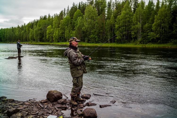 В Бокситогорском районе можно устроить отличную рыбалку.