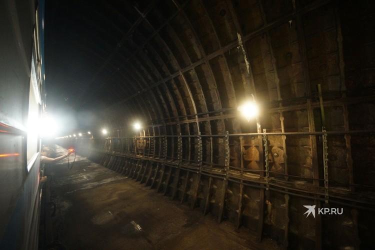 В этом месте однажды появится станция метро «Бажовская».