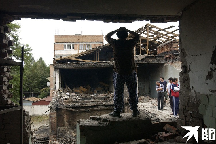 Разрушенная школа №1