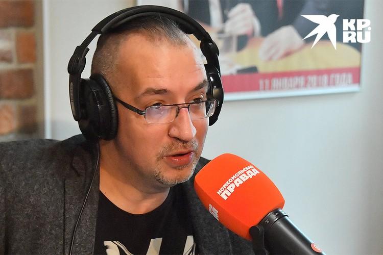 """Ведущий Радио """"Комсомольская правда"""" Михаил Антонов"""