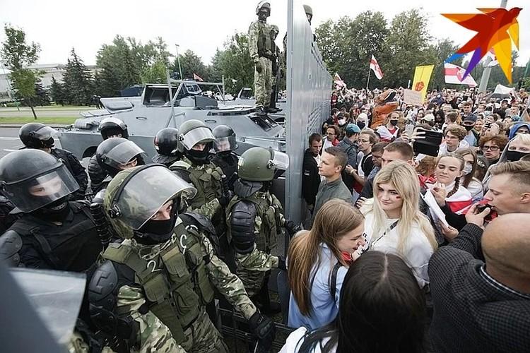МВД: На акциях протеста в Беларуси 6 сентября было задержано 633 человека. Из них 363 будут судить