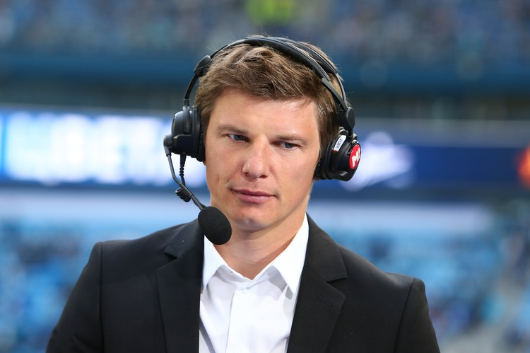 Андрей Аршавин теперь стал звездой спортивного ТВ.
