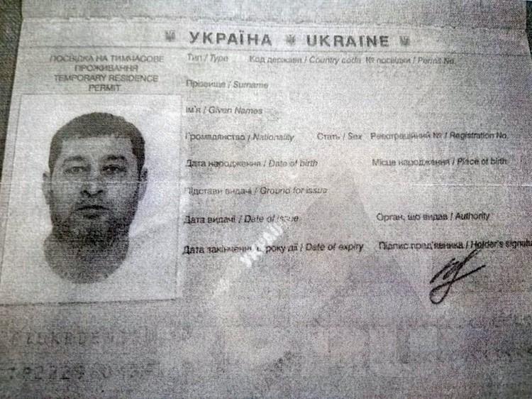 Паспорт Даниэля Альберта.