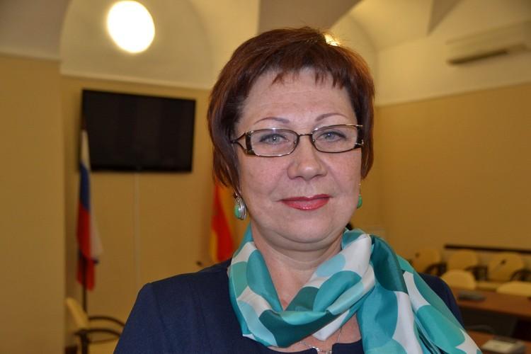 Председатель Совета Золотой книги города Твери, член городской Общественной палаты Елена Баранова. Фото: ТИА