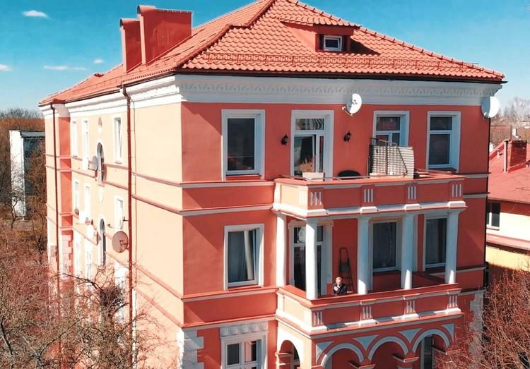 Пример ремонта исторического здания в Центральном районе.