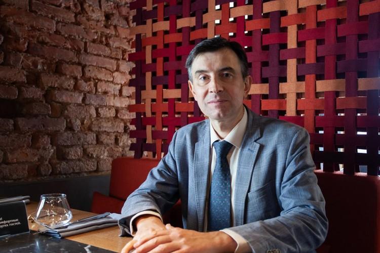 Основатель и директор «Петербургского медицинского форума», кандидат медицинских наук Сергей Ануфриев.