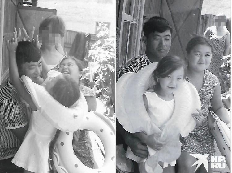 Николай Нем с детьми от первого брака. Фото: личный архив.