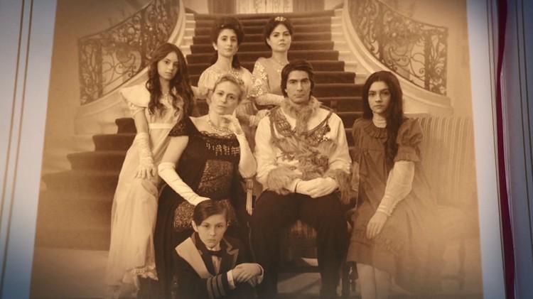 Так в фильме показана царская семья. Фото: кадр из фильма