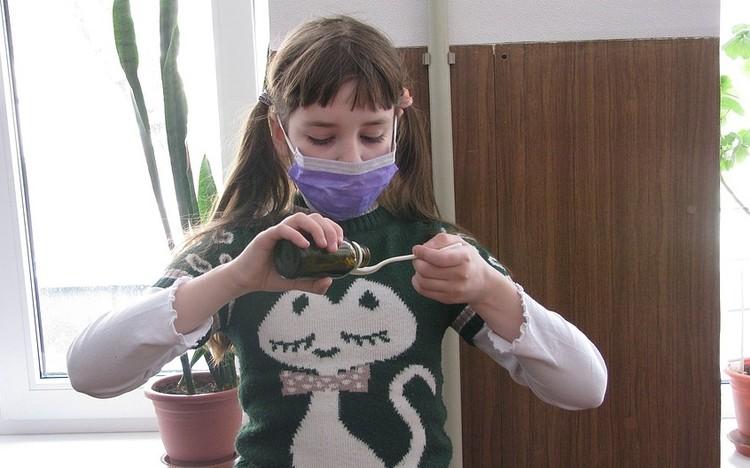 В ДНР сезонный подъем заболеваемости среди детей респираторкой