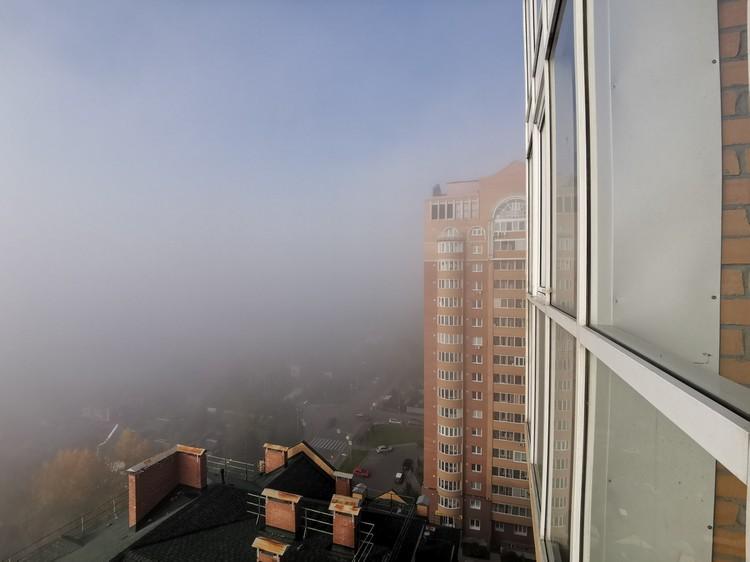 Вид из окна 16 этажа в Ветлужанке