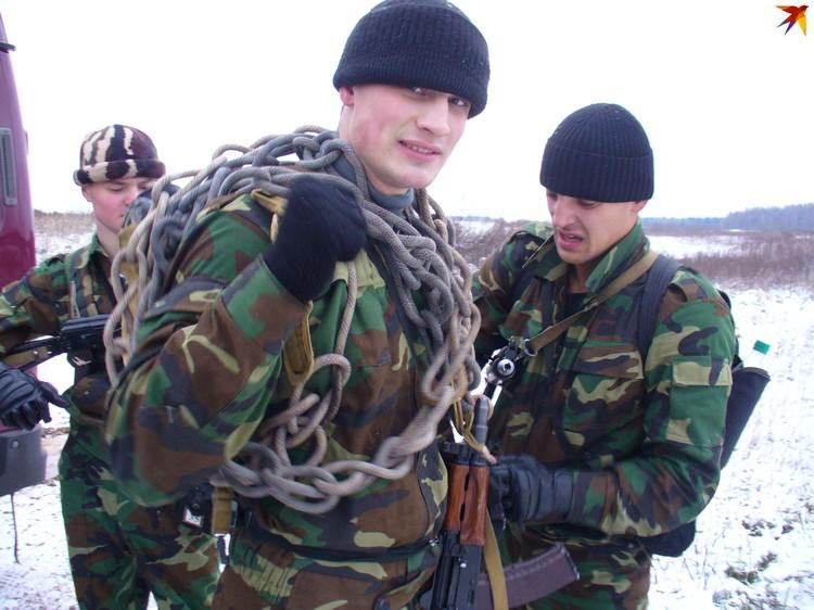 Павел служил в войсках спецназначения. Фото: личный архив.