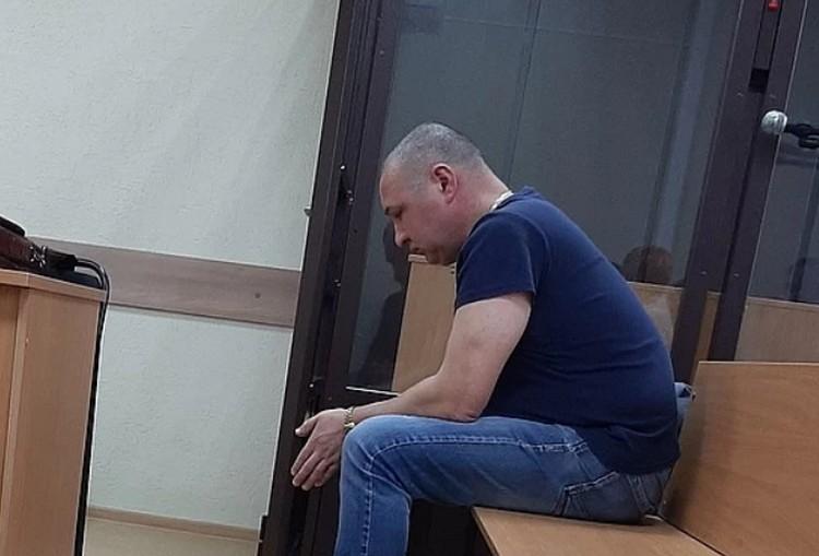 Подсудимый Ринат Ситдиков. Фото предоставлено Александром Сидоровым