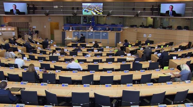В Европарламенте выступили Светлана Тихановская, Ольга Ковалькова и Павел Латушко