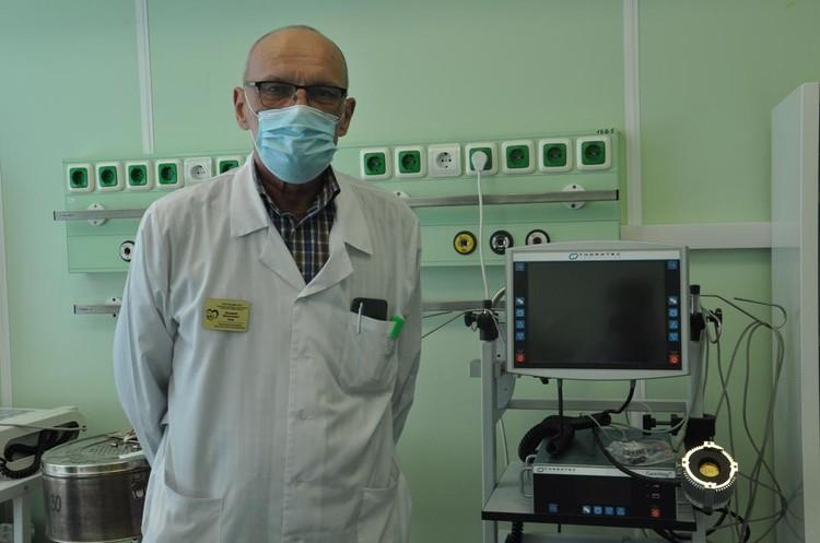 Валерий Зуев: - Аппарат ЭКМО - это высокий уровень оказания медицинской помощи.