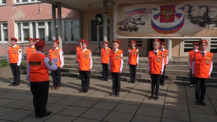 Новоиспеченные кадеты приняли присягу