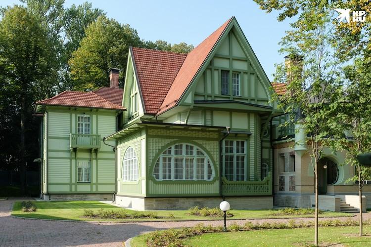 Дача Гаувальда или дом Ирэн Адлер.