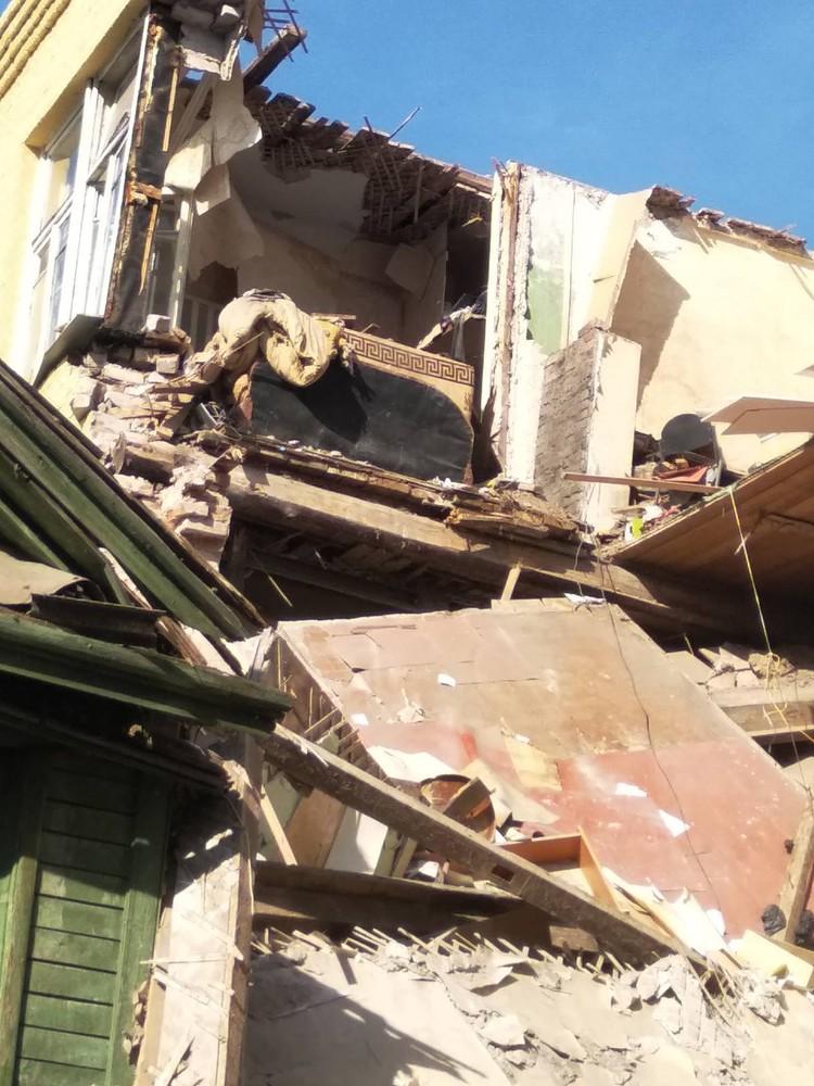 """От квартиры практически ничего не осталось. Фото: предоставлено """"Комсомолке"""""""