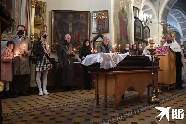 Отпевание Софии Конкиной