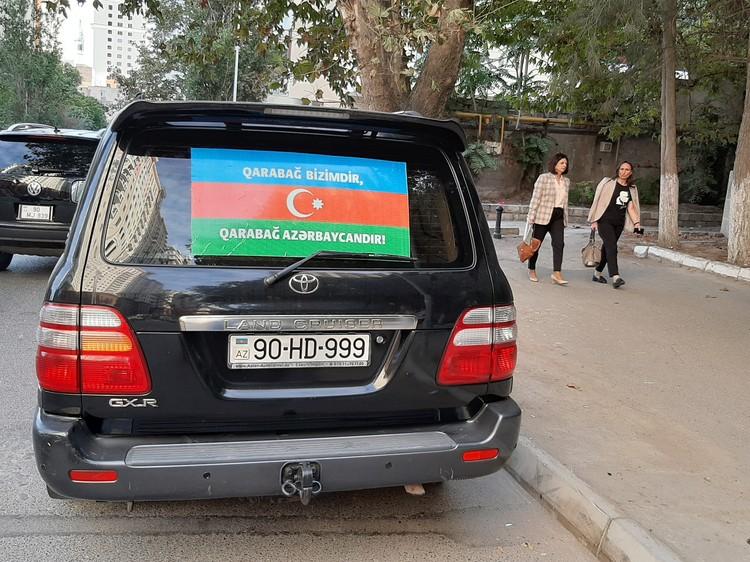 Началу боевых действий в Баку не удивились
