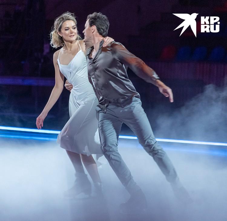 Надежда Михалкова и Максим Маринин